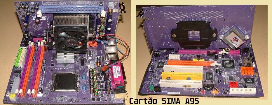 PF88 com o cartão SIMA A9S