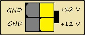 Diagrama Cabo EPS12V