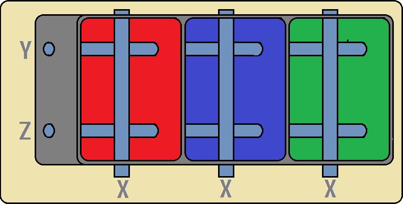 Um pixel de display de Plasma