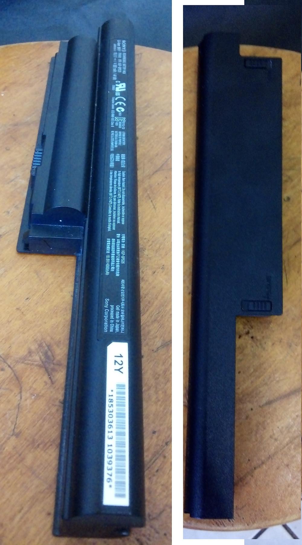 Bateria de um notebook Sony VAIO