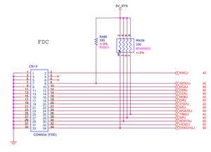 Esquema elétrico da placa-mãe Foxconn 748A01 Rev. 1.0