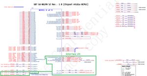 Esquema elétrico da placa-mãe GBT GA-M61PM S2 Rev.: 1.00