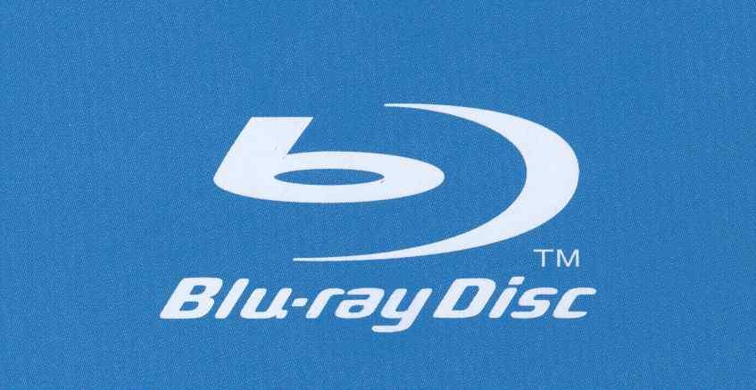 Símbolo da tecnologia Blu-Ray