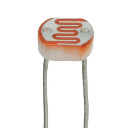 Imagem de um resistor LDR