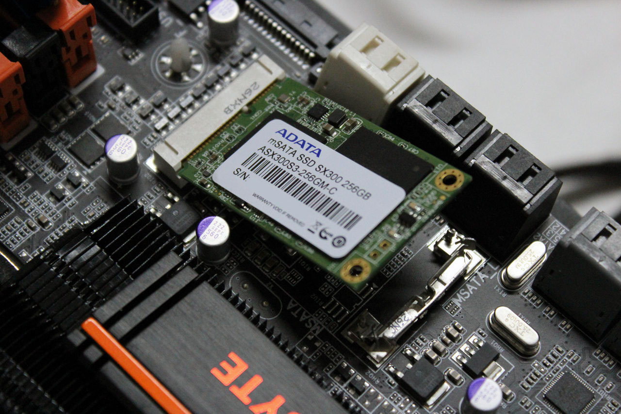 SSD com interface mSATA