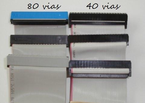 Cabos IDE (comparação)