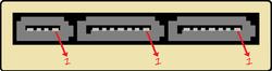 Conector SATA Express da placa-mãe