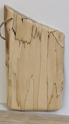 Hand Hewn Spalted Maple Charcuterie Board-Small
