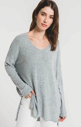 Z Supply - Marled Sweater Knit V-neck Tunic