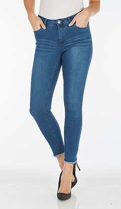 FDJ - Olivia - Frayed hem ankle denim