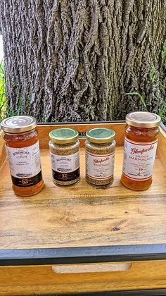 Mackay's Mustard and Marmalade/Bowmore and Glenfarclas