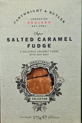 Salted Caramel Fudge Small Box - Cartwright & Butler