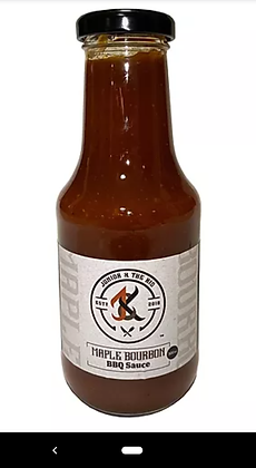 Junior And The Kid BBQ-Maple Bourbon