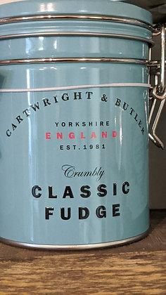 Salted Caramel Fudge Tin Cartwright & Butler