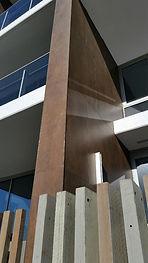 Kerlite Metal Corten Metal External Clad