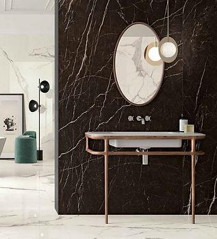 Vanity - Glossy Statuario & Touch Dark B