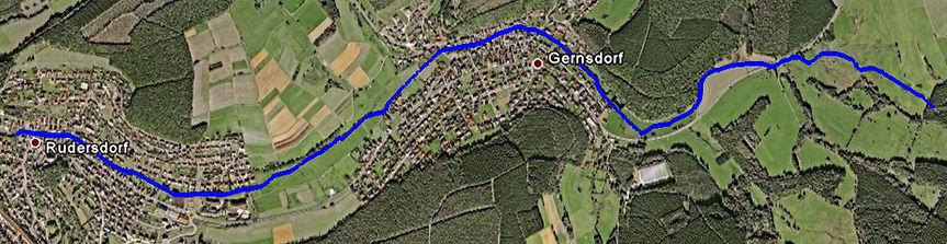 Verlauf des Bichelbachs