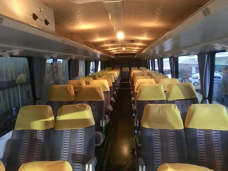 Retro Vintage Coach Interior