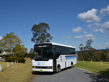 43 seat air-conditioned charter bus