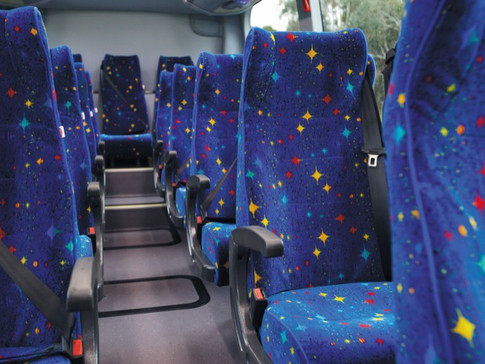 Seatbelted coaches