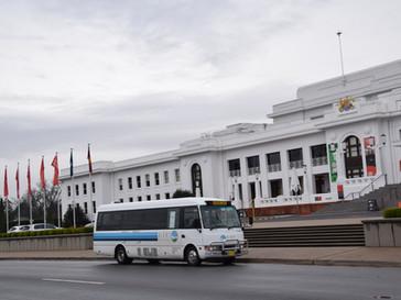 24 seat air-conditioned mini coach