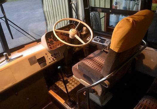 Retro Vintage Coach Interior