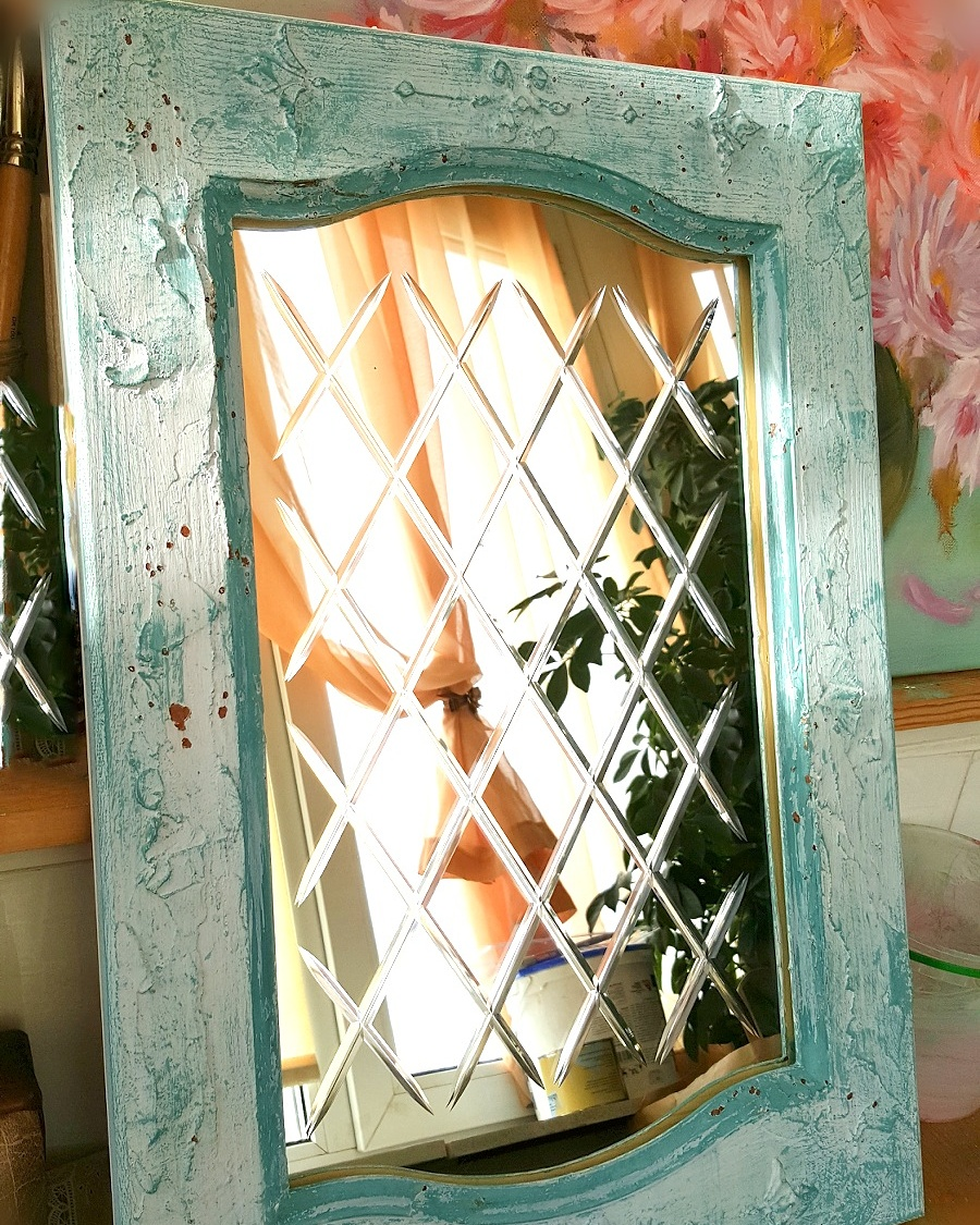 алмазная гравировка на зеркале