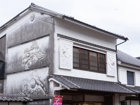 吉井の白壁の町並みの見所
