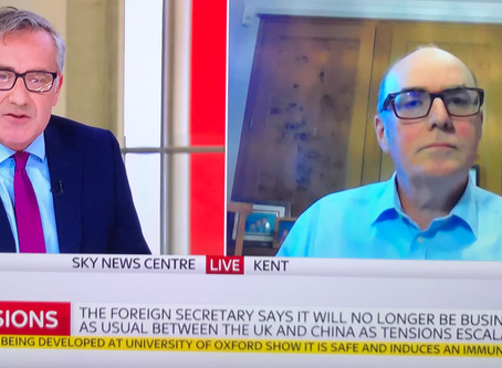 Live on Sky News - 20th July