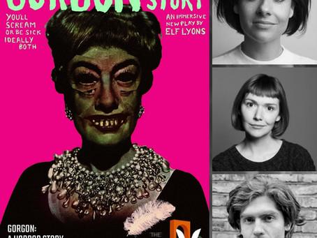 Cast announcement for GORGON: A HORROR STORY