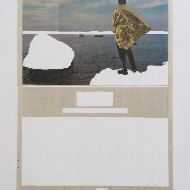 Sem título, 2016. da série Deslocamentos  54 x 32 cm