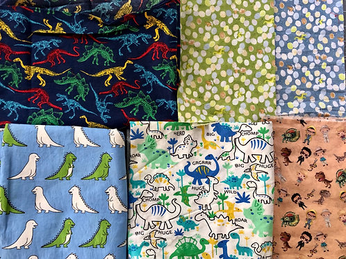 Dinosaur prints for made to order Non-medical Masks