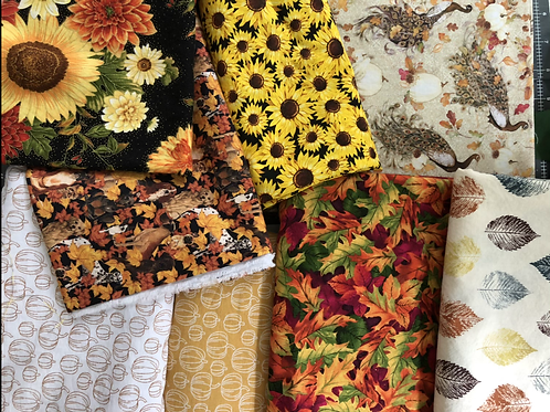 Fall Prints for made to order Non-medical Masks