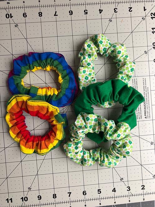 St. Patty's Day Scrunchie Set