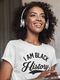 I AM BLACK HISTORY TSHIRT