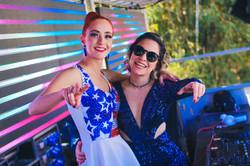 Camila Haro e Daiana Camargo