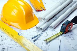 plans, chantier, architecture