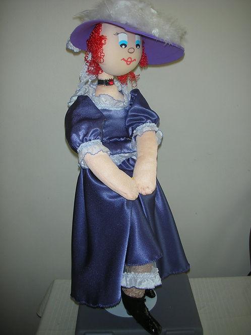 Flirty Victorian Doll