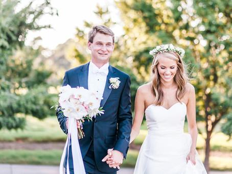 Kyle + Courtney | Landfall Country Club Wedding