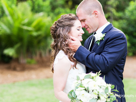 Haley + Luke | Wrightsville Manor Wedding
