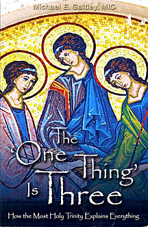 THE 'ONE THING' IS THREE by Michael E. Gaitley, MIC