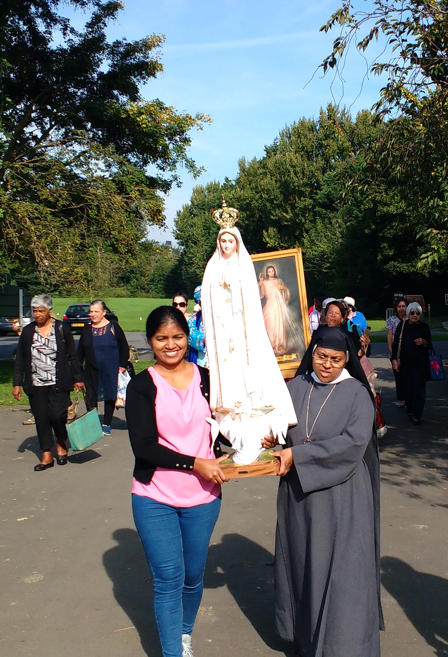 Divine Mercy Pilgrimage to Aylesford 28 August 201752014