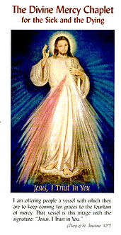 Divine Mercy Chaplet For The Sick And The Dying