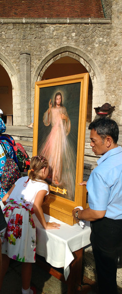Divine Mercy Pilgrimage to Aylesford 28 August 2017161930698