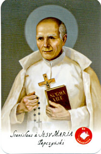 Saint Stanislaus Papczynski - Picture with Relic