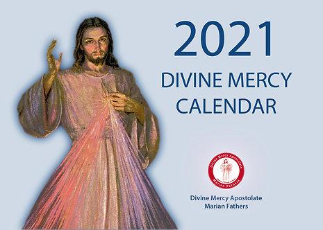 Divine Mercy 2021 Wall Calendar