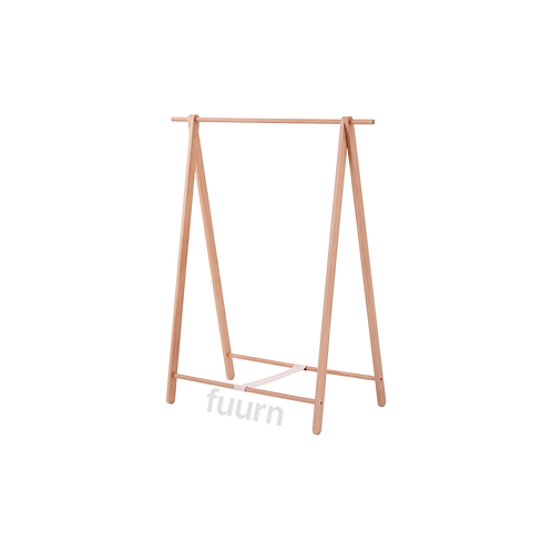 Solid Wood Clothing Rack