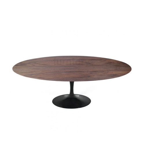 Oval Wood Tulip Table - Extendable tulip table