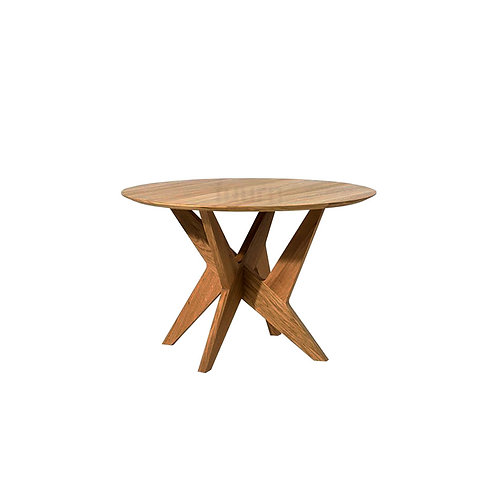 Cross Pedestal (Wood) Table