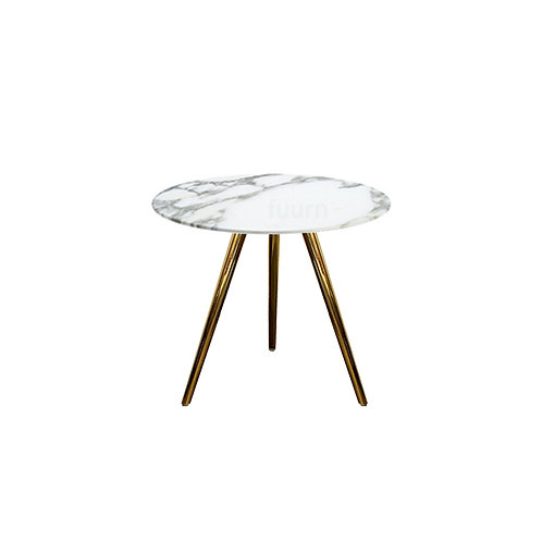 Carrera Gold Side Table